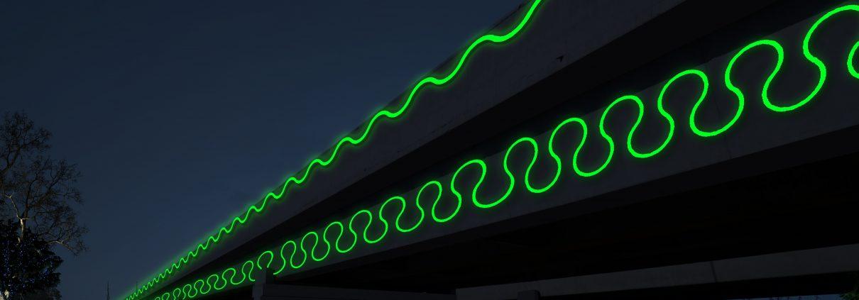 桥梁灯具,桥梁夜景,天桥亮化